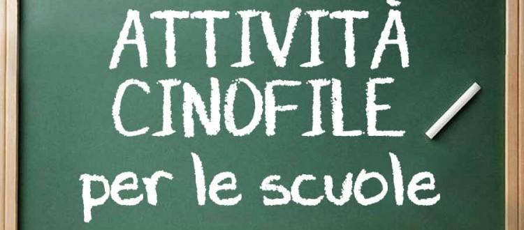 Attività Cinofile per le scuole